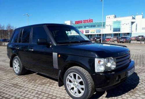 Land Rover Range Rover, 2004, бмв 525 е39 м54