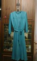 Платье, вечернее платье бирюзового цвета макси