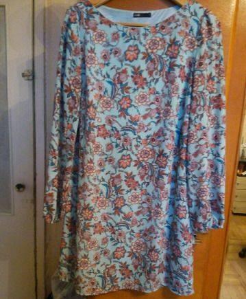 Вечернее платье с декольте 52 размера, платье