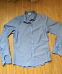 Рубашка мужская хлопок 44-46, марка одежды stradivarius