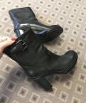 Зимние сапоги демар, ботинки Prada 37р, Тельмана