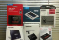 SSD диски Kingston, SAMSUNG, WD, SanDisk, Crucial