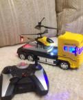 Трейлер с вертолетом р/у