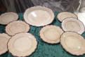 Старинные тарелки