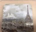 Пробковая Подставка под кружку. Париж