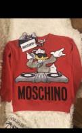 Женская верхняя одежда маленьких размеров интернет магазин, свитшот HM Moschino