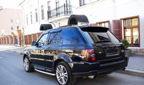 Мерседес мл 320 w163, land Rover Range Rover Sport, 2006