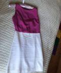 Джинсовая одежда lafei-nier, платье Zara белое/цикламеновое/розовое
