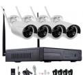 Видеонаблюдения комплект беспроводной 4wifi камеры