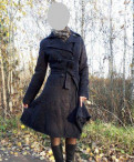 Пальто демисезонное Rina Fashion, платье ostin белое, Санкт-Петербург