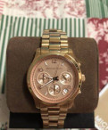 Часы Michael Kors Pink Gold, женские