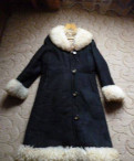 Дубленка из овчины СССР, платья с распущенными рукавами