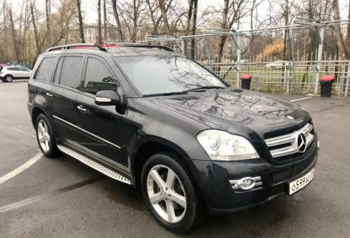 Mercedes-Benz GL-класс, 2007, фольксваген гольф спорт ван