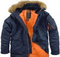 Мужская одежда ostin, куртка мужская Аляска Alpha Industries n-3b зимняя