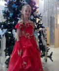 Платье праздничное красное