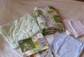 Пакет вещей в детскую кроватку:пост. белье, подушк, Всеволожск