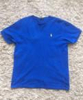 Футболка Ralph Lauren, мужские сорочки без воротника