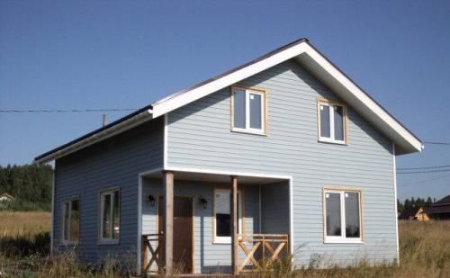 Дом 120 м² на участке 9 сот