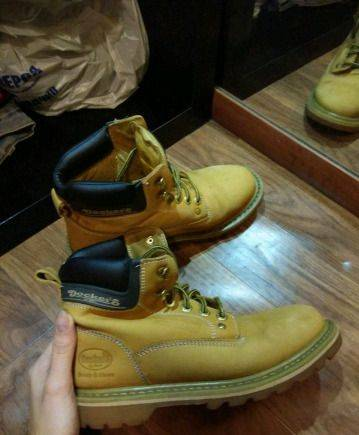 518026986 Мужские демисезонные ботинки Dockers by Gerli, бутсы женские купить  интернет магазин