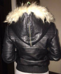 Утепленная кожаная куртка, японские бренды женской одежды