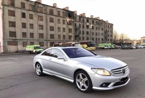 Вариатор ниссан х трейл 2.0 2015, mercedes-Benz CL-класс, 2007