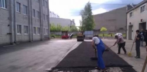 Строительные работы, ремонт, асфальтирование