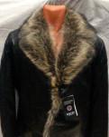 Мужские свитера остин, кожаная куртка с мехом Волка