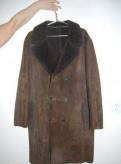 Продам мужскую дубленку Р 54, толстовка с капюшоном rust, Сясьстрой