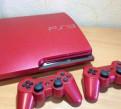 PS3 slim 160gb + 12 топовых игр