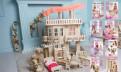Кукольный дом для Барби с лифтом, качелями, мебелью