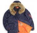 Куртка мужская N-3B Slim Fit натуральный мех M, мужской костюм от юдашкина цена