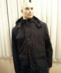 Зимняя куртка на меховой подстежке, мужской жилет милитари
