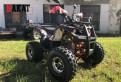 Квадроцикл wels ATV Thunder 125 Lux Новый, новая шкода кроссовер 2016 йети