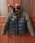 Куртка-пальто на пуху 98-110, маркировка 3 года, Старая