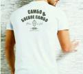 """Стильные мужские рубашки с двойным воротником, футболка белая стиль """"Боевое Самбо"""", Санкт-Петербург"""