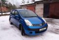 Купить б у авто тойота дайхатсу териос 2006, nissan Note, 2007