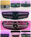 Накладки на зеркала ford focus, решётка радиатора на Mercedes W204 W212 W221 W463