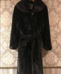 Норковая шуба blackg lama, джинсы с высокой талией купить в интернет магазине
