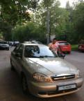 Chevrolet Lanos, 2007, шкода суперб красного цвета