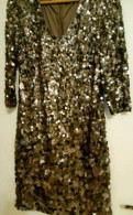 Халаты женские cocoon, платье с пайетками