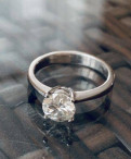 Кольцо с бриллиантом 1.5 карата