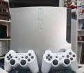 Playstation 3 slim 160gb silver + 12 топовых игр