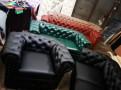 Зеленый двухместный диван Честер