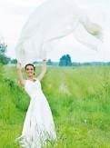 Красивые костюмы балерин, свадебное платье кремового цвета