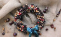 Рождественский, новогодний венок, Металлострой