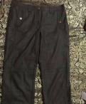 Интернет магазин одежда маркет оптом, укорочённые брюки Luisa Cerano, Дубровка