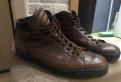 Santoni (original) / Made in Italy / 46 размер, зимние мембранные ботинки tom miki
