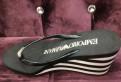 Пляжные тапочки Armani, адидас 3 полоски кроссовки, Понтонный