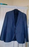 Пуховик мужской большой размер, пиджак серый 52