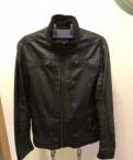 Кожаная куртка Bershka, интернет магазин весенних мужских курток, Санкт-Петербург